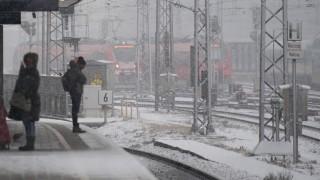 Wegen Wintereinbruch droht Bahnchaos