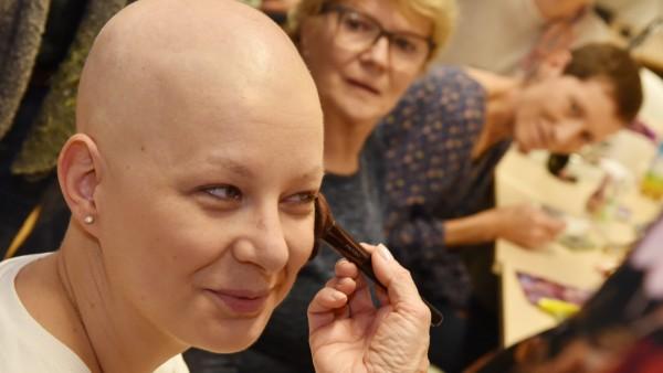 Schminkkurs Krebspatienten Krebs