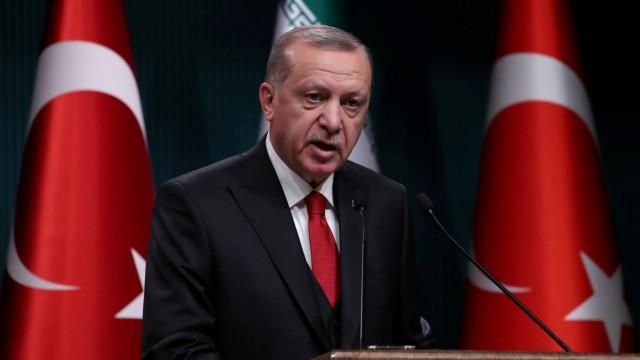 Recep Tayyip Erdogan 2018 in Ankara
