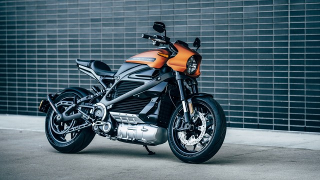 Motorrad Premiere auf der CES