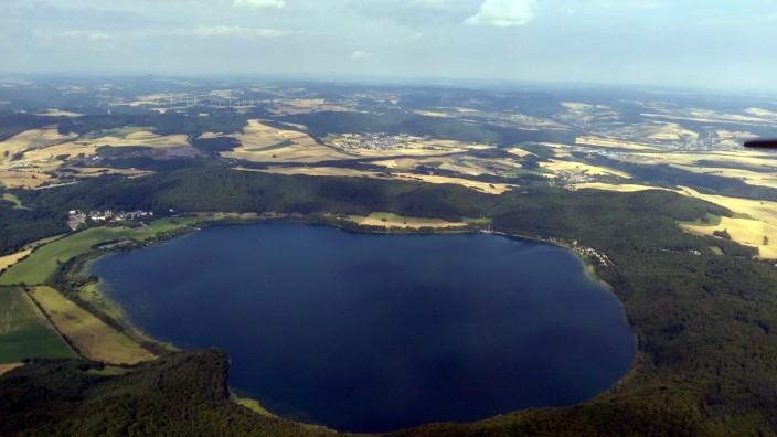 Laacher See in der Eifel