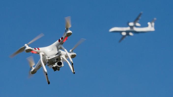 Flughafen Gatwick setzt Anti-Drohnen-Technologie ein
