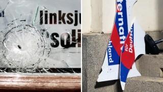 Politik AfD Politische Gewalt