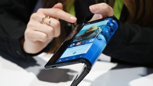 """Faltbares Smartphone """"FlexPai"""""""