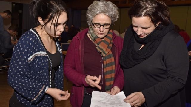 Maisach Besuch in Asyl-Unterkunft