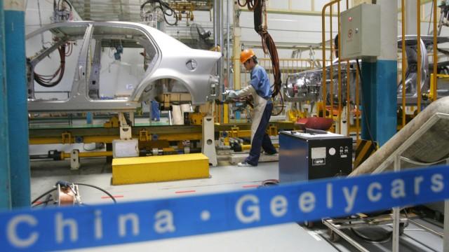 Chinesische Automobilherstellung bei Geely Automobile Co., 2005