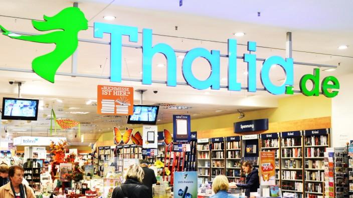 Filiale einer Thalia-Buchhandlung in Berlin