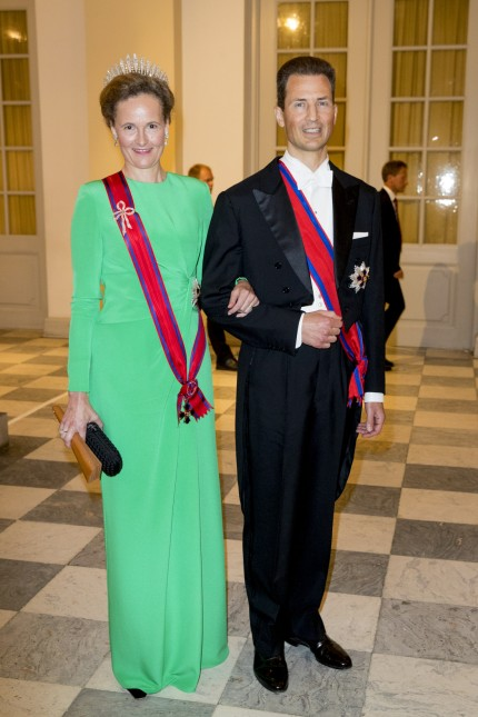 Gala voor Deense kroonprins Frederik