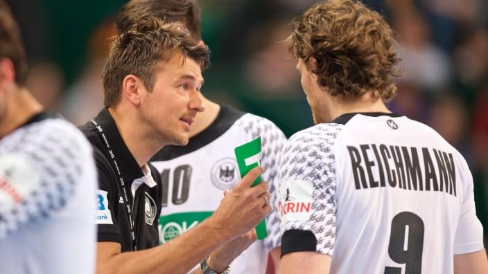 Handball Halle Westf 06 05 2017 Länderspiel EM Qualifikation Deutschland GER Slowenien SLO C
