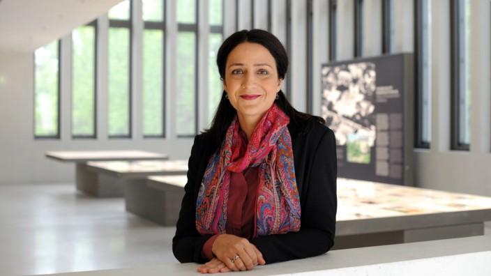 Mirjam Zadoff im NS-Dokuzentrum in München, 2018