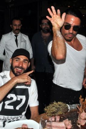 Karim Benzama visits Turkey