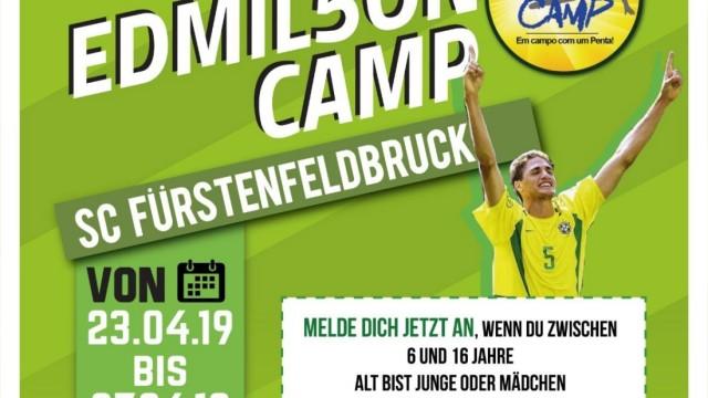 SCF-Camp mit Edmilson