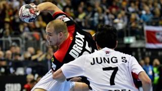 Handball Deutsche Handballer besiegen Korea
