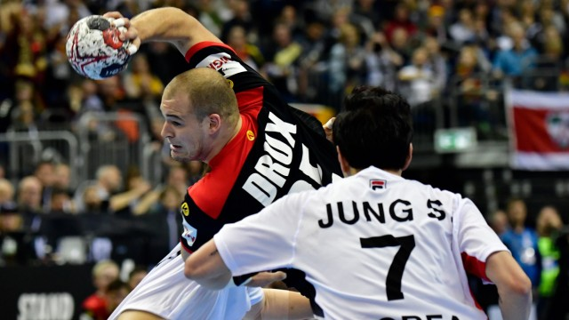 Handball Deutsche Handballer besiegen Korea