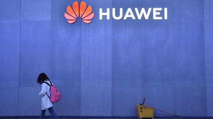 Huawei-Stand auf der CES 2019 in Las Vegas