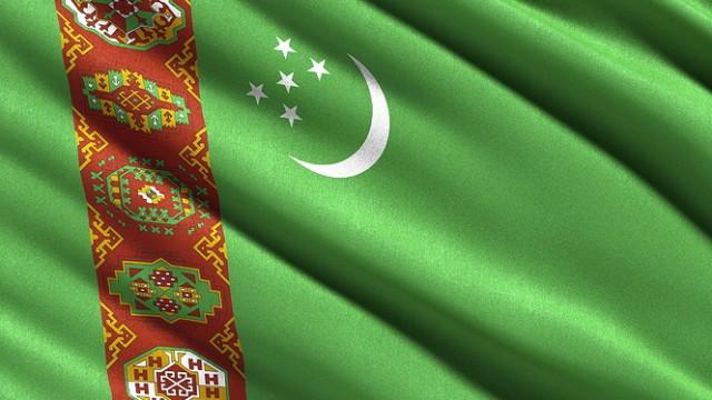 Flagge von Turkmenistan iblcrs03824593 jpg