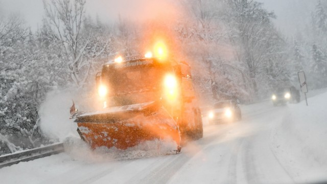 Austria And Southern Germany Inundated With More Snow
