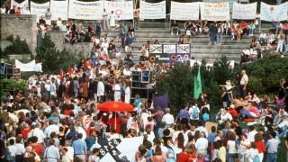 Abtreibungsprozess in Memmingen - Demo