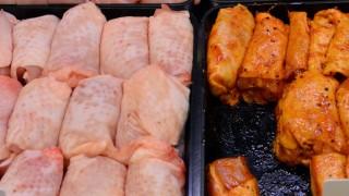 Hähnchenfleisch im Einzelhandel