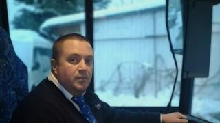 Busfahrer Driton Lushtaku aus Herrsching