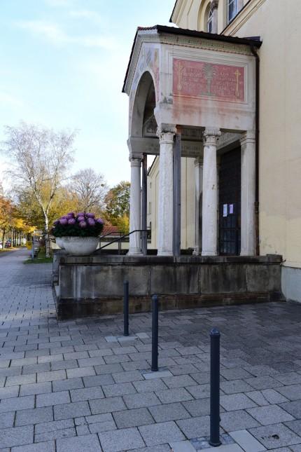 Nordfriedhof in München, 2018