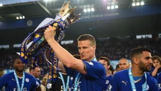 Leicester City v Everton - Premier League; Huth