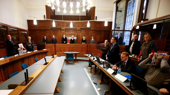 Start of a trial after gold coin theft in Berlin