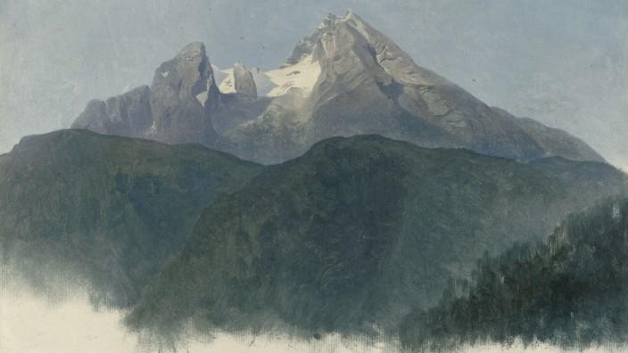 Hamburger Kunsthalle: Heinrich Reinhold Der Landschaft auf der Spur 7. Dezember 2018 bis 10. März 2019 Der Watzmann