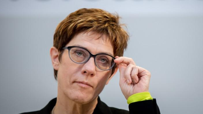 Abschluss Klausurtagung CDU-Bundesvorstand
