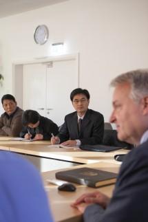 Chinesische Delegation zu Besuch im Rathaus Eichenau