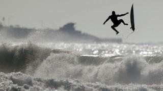 Surfer in Kalifornien
