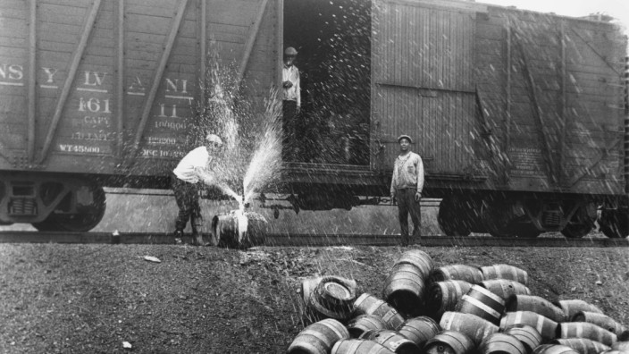 Prohibition in den USA