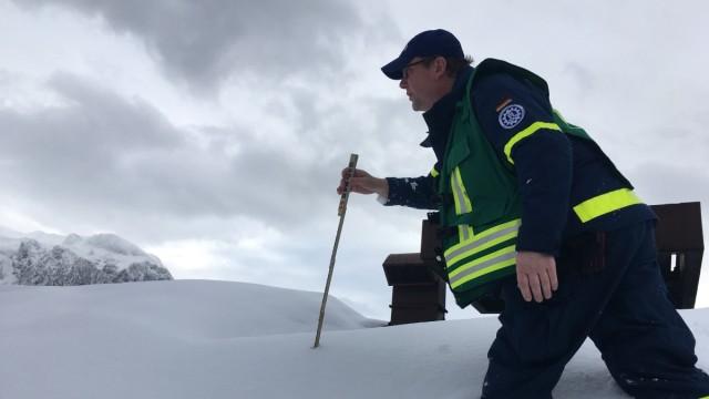 Wetter Schneechaos in Berchtesgaden