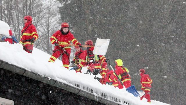 Winter in Bayern Wetter Schnee