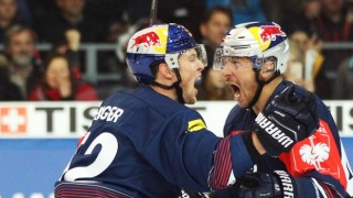 EC Red Bull Salzburg v EHC Red Bull Muenchen - Champions Hockey League Semi Final Leg Two