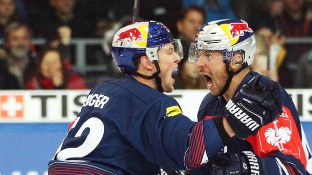 EC Red Bull Salzburg v EHC Red Bull Muenchen - Champions Hockey League Semi Final Leg Two