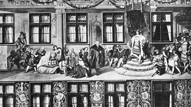 Kaiser Maximilian I. Fuggerhaus Augsburg