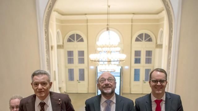 Abschluss Winterklausur bayerische SPD-Landtagsfraktion