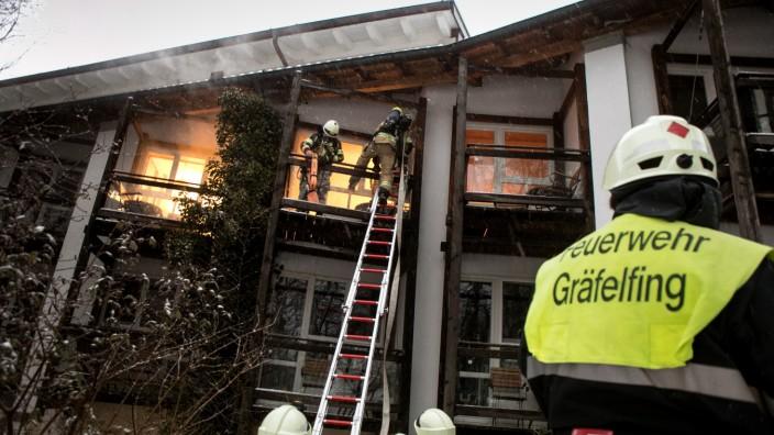 Katastrophenschutz-Übung in Gräfelfing, 2017