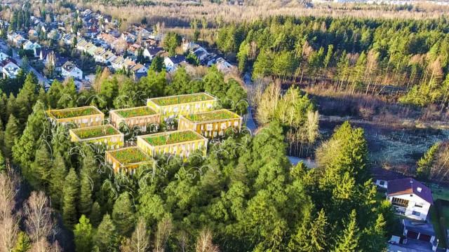 Fauststraße ökologische Mustersiedlung: Heute und Planung