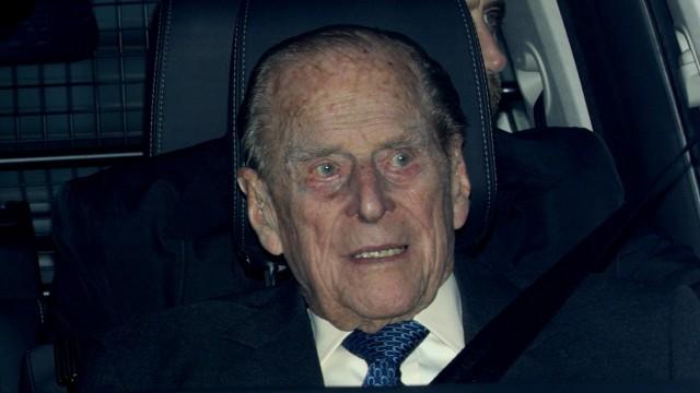 Prinz Philip in Autounfall verwickelt