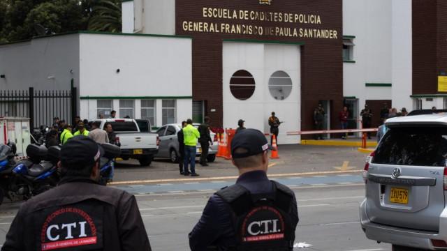 Bombenanschlag auf Polizeischule in Kolumbien