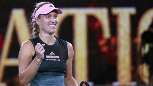 Angelique Kerber bei den Australian Open 2019