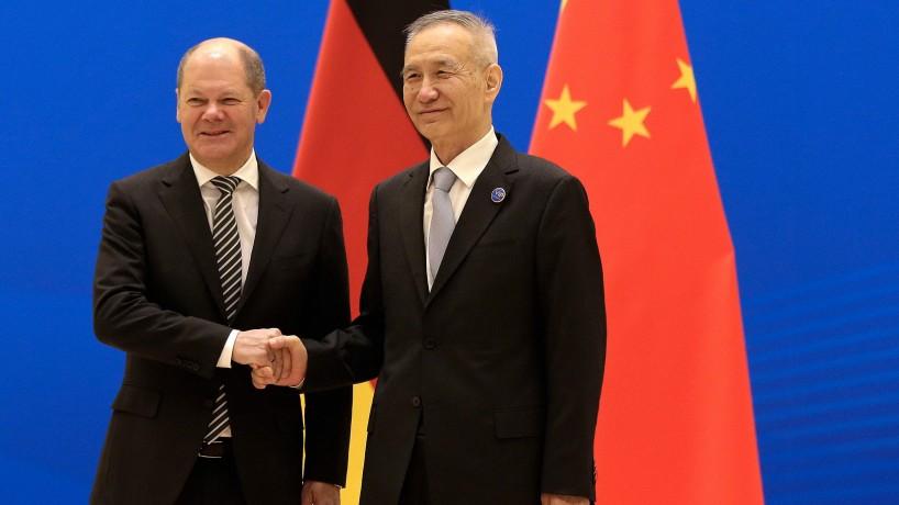 In Peking hat Scholz keine Zeit für Menschenrechte