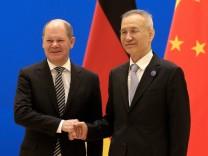 Scholz in Peking: Offensichtlich keine Zeit für Menschenrechte