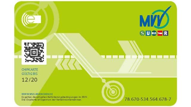 Die alten MVV-Zeitkarten aus Papier sollen von einer Plastik-Chipkarte ersetzt werden.