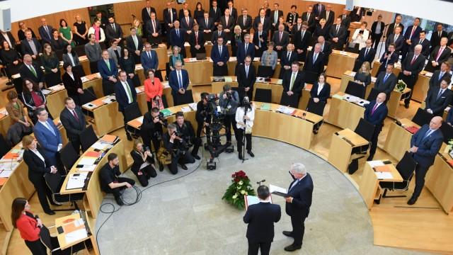 Konstituierende Sitzung Landtag Hessen
