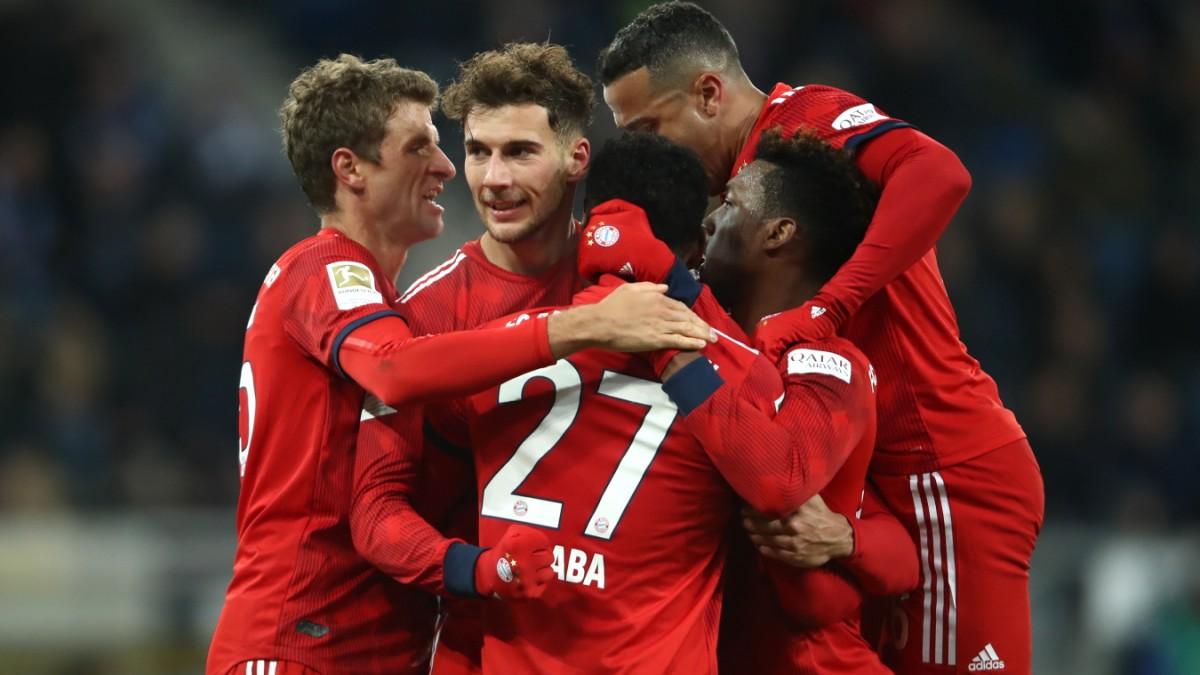 FC Bayern siegt in Hoffenheim.