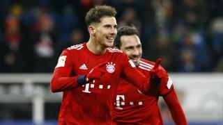 TSG 1899 Hoffenheim FC Bayern München Jubel Leon GORETZKA FCBM nach dem 0 2 Fußball 1 BL Saiso; Leon Goretzka FC Bayern Hoffenheim
