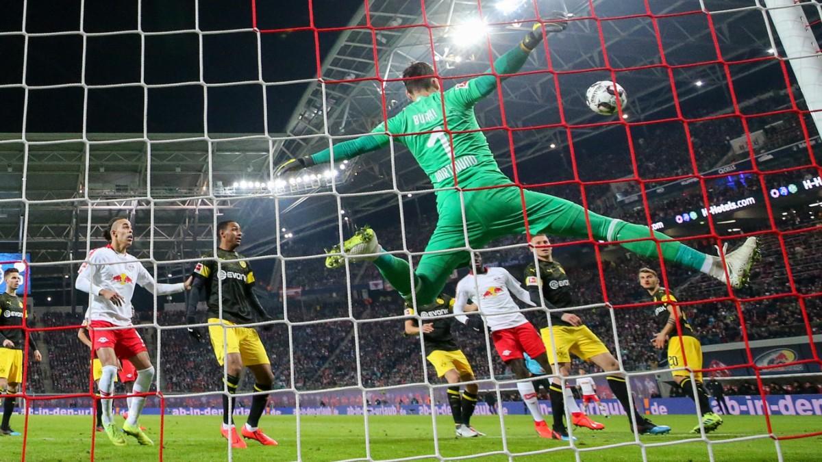 Borussia Dortmund In Leipzig Burki Ist Uberall Sport